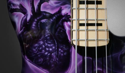 Purple Heart Guitar