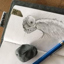 Creature Illustration by Ian Johnson
