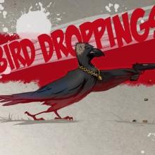 'Bird Droppings' Illustration by Ian Johnson #ianjohnsonart #excaliburairbrushing #digitalart #digitalillustration