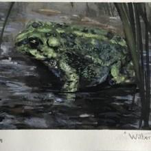 'Wilbert' Painting by Ian Johnson #ianjohnsonart #excaliburairbrushing #creatureart #creaturedesign #creatureillustration #abbotsfordartist #vancouverartist
